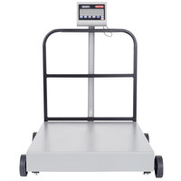 Tor Rey EQM-400/800 800 lb. Digital Receiving Bench Scale with Tower Display, Legal for Trade