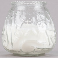 Sterno Products 40122 4 1/8 inch Clear Venetian Candle - 12/Pack