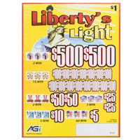 Liberty's Light 5 Window Pull Tab Tickets - 4000 Tickets per Deal - Total Payout: $3000
