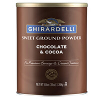 Ghirardelli 3 lb. Sweet Ground Chocolate & Cocoa Powder