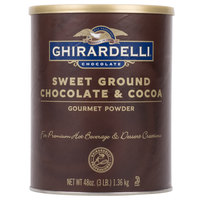 Ghirardelli 3 lb. Sweet Ground Chocolate &amp&#x3b; Cocoa Powder