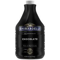 Ghirardelli 64 fl. oz. Black Label Chocolate Flavoring Sauce