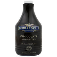 Ghirardelli 64 oz. Black Label Chocolate Flavoring Sauce