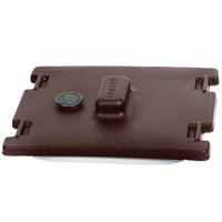 Cambro 6316131 Dark Brown Camtainer Lid with Vent and Gasket
