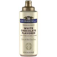 Ghirardelli 12 fl. oz. (17 oz.) White Chocolate Flavoring Sauce
