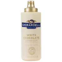 Ghirardelli 17 oz. White Chocolate Flavoring Sauce