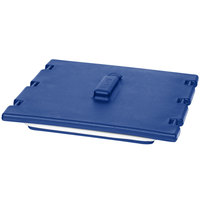 Cambro 6323186 Navy Blue Camtainer Lid with Vent and Gasket