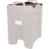 Cambro 7356131 Dark Brown Camtainer Lid