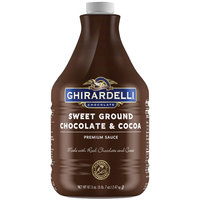 Ghirardelli 64 fl. oz. Sweet Ground Chocolate & Cocoa Flavoring Sauce