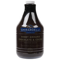 Ghirardelli 64 oz. Sweet Ground Chocolate & Cocoa Flavoring Sauce