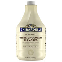 Ghirardelli 64 fl. oz. White Chocolate Flavoring Sauce