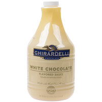 Ghirardelli 64 oz. White Chocolate Flavoring Sauce