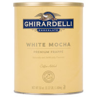 Ghirardelli 3.12 lb. White Mocha Frappe Mix