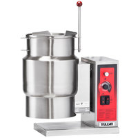 Vulcan K6ETT-7 6 Gallon Tilting Electric Steam Jacketed Kettle - 7.5 kW, 208V