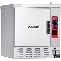 Vulcan C24EA5-3 5 Pan Electric Countertop Convection Steamer with Deluxe Controls - 208V, 15.75 kW