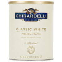 Ghirardelli 3.12 lb. Classic White Frappe Mix