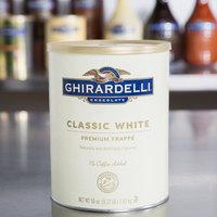 Ghirardelli 3.12 lb. White Chocolate Frappe Mix