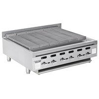 Vulcan VACB36 - 101 Achiever 36 inch Medium-Duty Radiant Natural Gas Charbroiler - 102,000 BTU