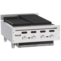Vulcan VACB25 - 101 Achiever 25 inch Medium-Duty Radiant Natural Gas Charbroiler - 68,000 BTU