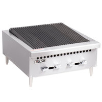 Vulcan VCRB25-1 Natural Gas 25 inch Low Profile Radiant Charbroiler - 58,000 BTU