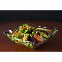 Fineline Wavetrends 132-CL Clear Plastic Serving Bowl 32 oz. - 50 / Case