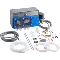 Viking Pro V Three Product Liquid Rinse Aid, Liquid Sanitizer, and Powder / Solid Detergent Warewashing Chemical Pump System