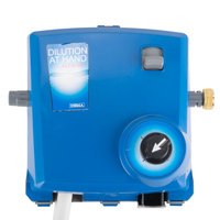 Dema Dilution at Hand Chemical Dispensing System with Action Gap Backflow Preventers