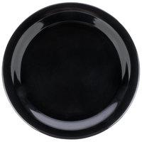 Carlisle 4350103 Dallas Ware 9 inch Black Melamine Plate - 48/Case