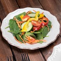 10 Strawberry Street OXFRD-CRM-4 Oxford 8 5/16 inch Cream Stoneware Salad Plate - 24/Case