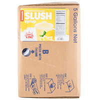 Carnival King 5 Gallon Bag in Box Lemonade Slushy Syrup