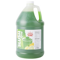 Carnival King 1 Gallon Lemon Lime Slushy Syrup