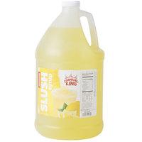 Carnival King 1 Gallon Lemonade Slushy 5:1 Concentrate - 4/Case