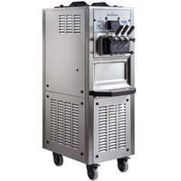 Spaceman 6378AH Soft Serve Ice Cream Machine with Air Pump and 2 Hoppers - 208/230V, 1 Phase
