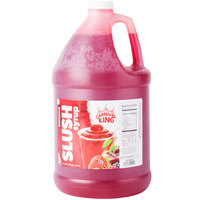 Carnival King 1 Gallon Fruit Punch Slushy Syrup