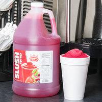 Carnival King 1 Gallon Fruit Punch Slushy Syrup