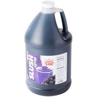 Carnival King 1 Gallon Grape Slushy Syrup - 4/Case