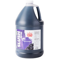 Carnival King 1 Gallon Grape Slushy Syrup - 4/Case