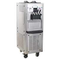 Spaceman 6260AH Soft Serve Ice Cream Machine with Air Pump and 2 Hoppers - 208/230V, 3 Phase