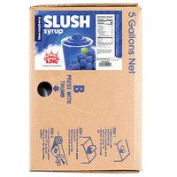 Carnival King 5 Gallon Bag in Box Blue Raspberry Slushy Syrup