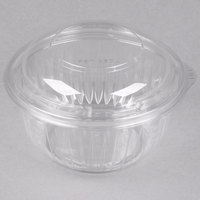 Dart Solo PET16BCD PresentaBowls 16 oz. Clear Plastic Bowl with Dome Lid - 252/Case