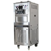 Spaceman 6250AH Soft Serve Ice Cream Machine with Air Pump and 2 Hoppers - 208/230V
