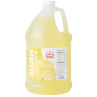 Carnival King 1 Gallon Lemon Slushy Syrup
