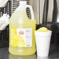 Carnival King 1 Gallon Lemon Slushy Syrup