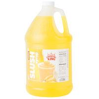 Carnival King 1 Gallon Banana Slushy 5:1 Concentrate - 4/Case