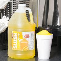 Carnival King 1 Gallon Banana Slushy Syrup - 4/Case