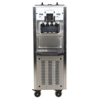 Spaceman 6260AH Soft Serve Ice Cream Machine with Air Pump and 2 Hoppers