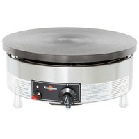 Krampouz CGBIP4P 15 3/4 inch Round Liquid Propane Cast Iron Crepe Maker - 24,000 BTU