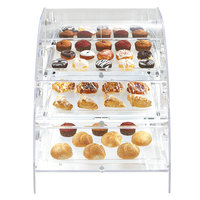 Vollrath XLBC3F-1826-13 Extra Large Acrylic 3 Tray Bakery Case with Front Doors