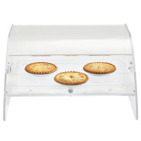 Vollrath XLBC1F-1826-13 Extra Large Acrylic 1 Tray Bakery Case with Front Door