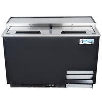 Avantco GF50-HC 50 inch Black Glass Froster / Plate Chiller - 115V